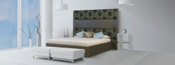 Brown Bedroom Headboard Bespoke Solutions | Email for Pricing