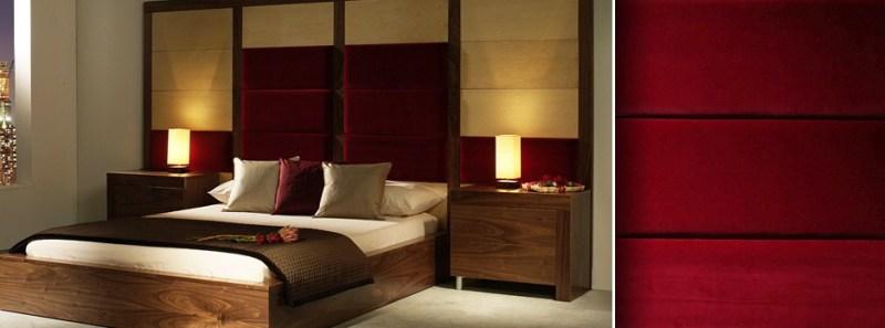 Dark Red Bedrooms